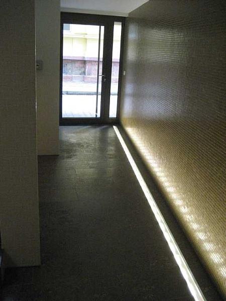 Garageneinfahrt beleuchtung  Bild:Beleuchtete Bodenrinne